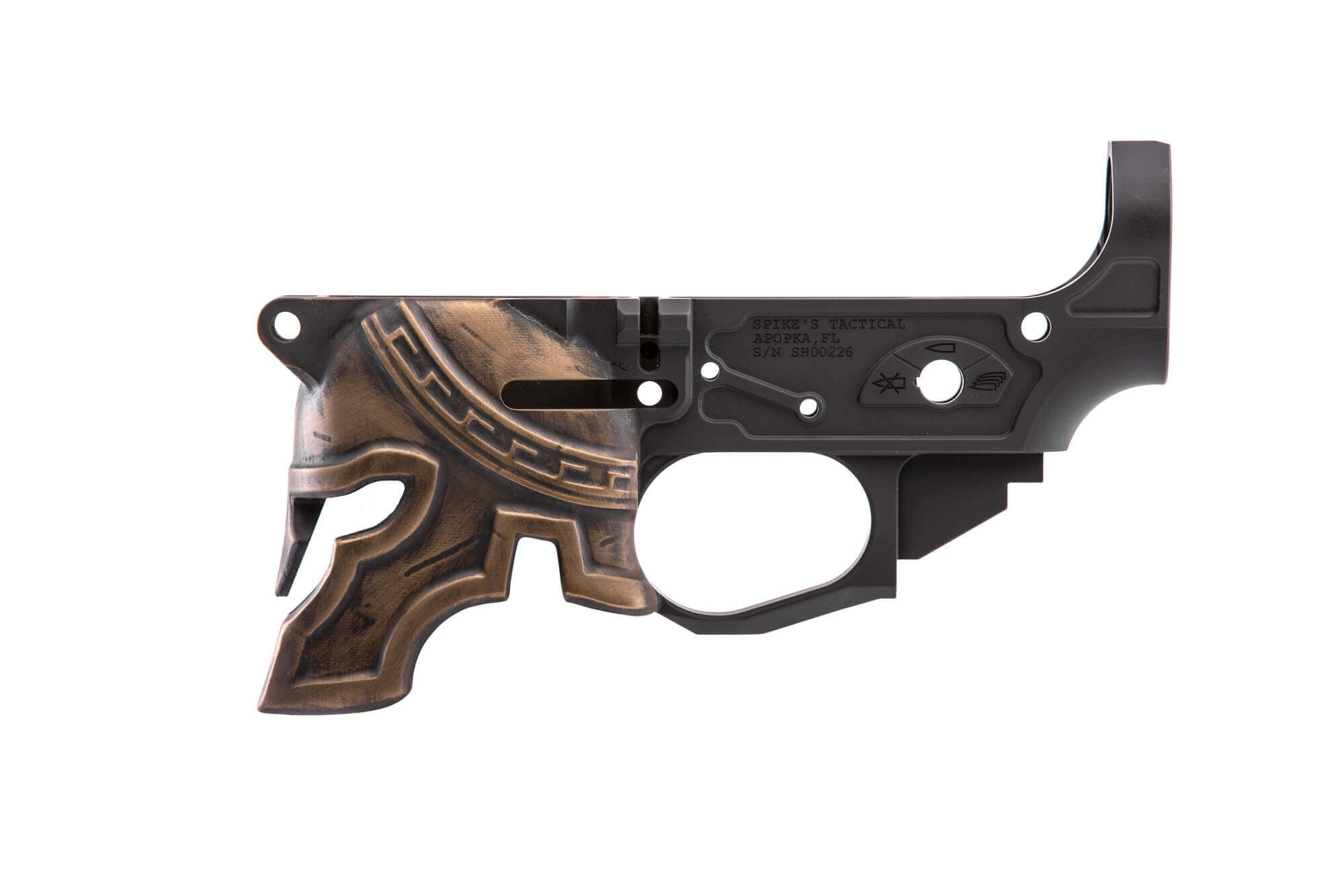 Rare Breed Stripped Spartan Lower Receiver