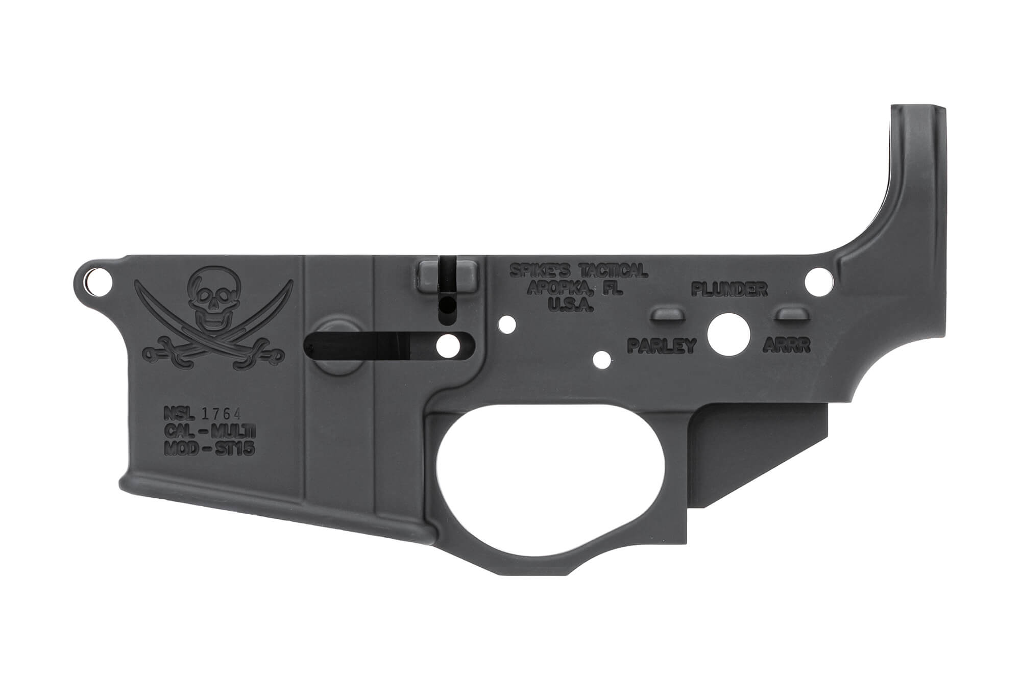 Calico Jack Stripped Lower Receiver