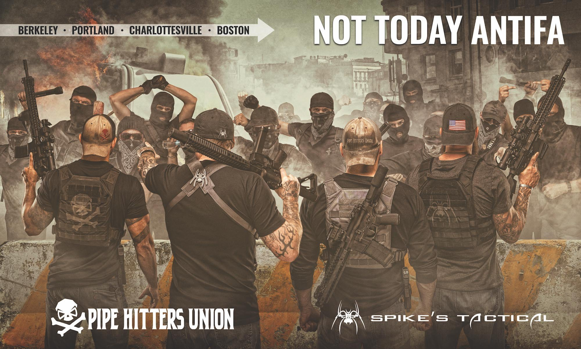 Florida gun manufacturer, Texas-based apparel company attacked for pro-American, anti-Antifa advertisement
