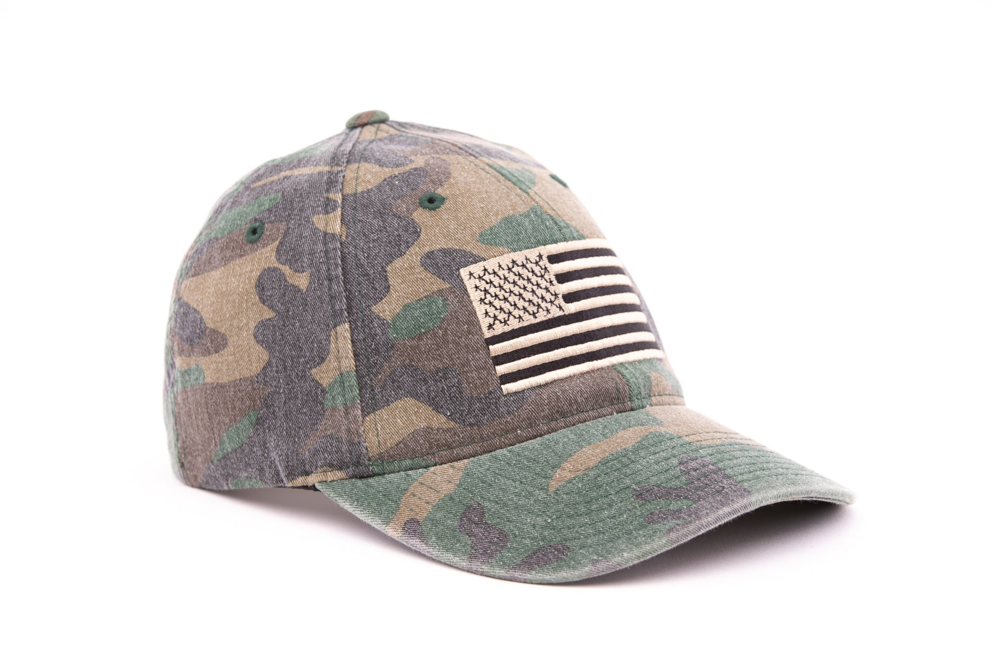 American Flag Flex Fit Hat