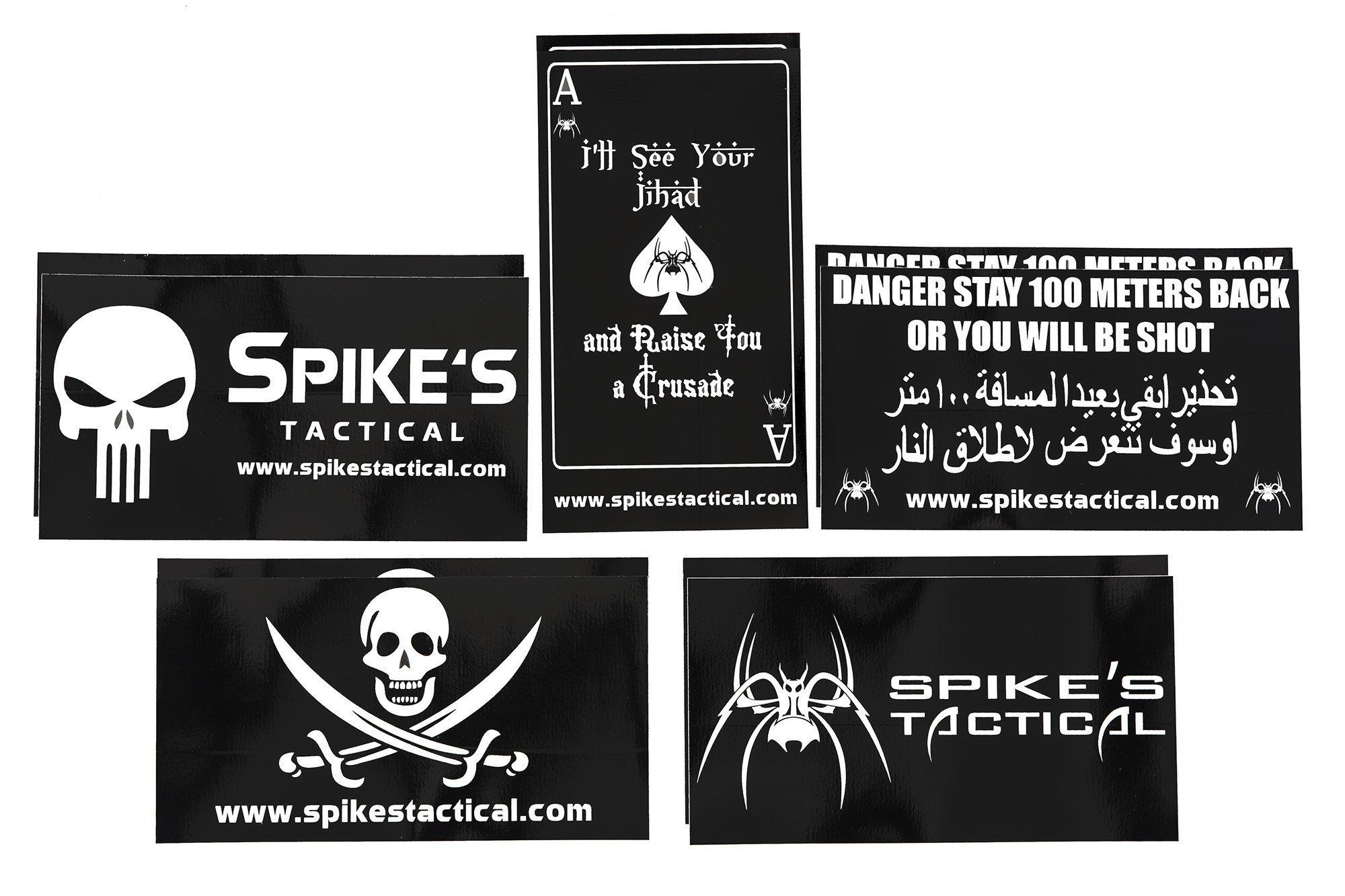 Spikes Tactical Sticker Set