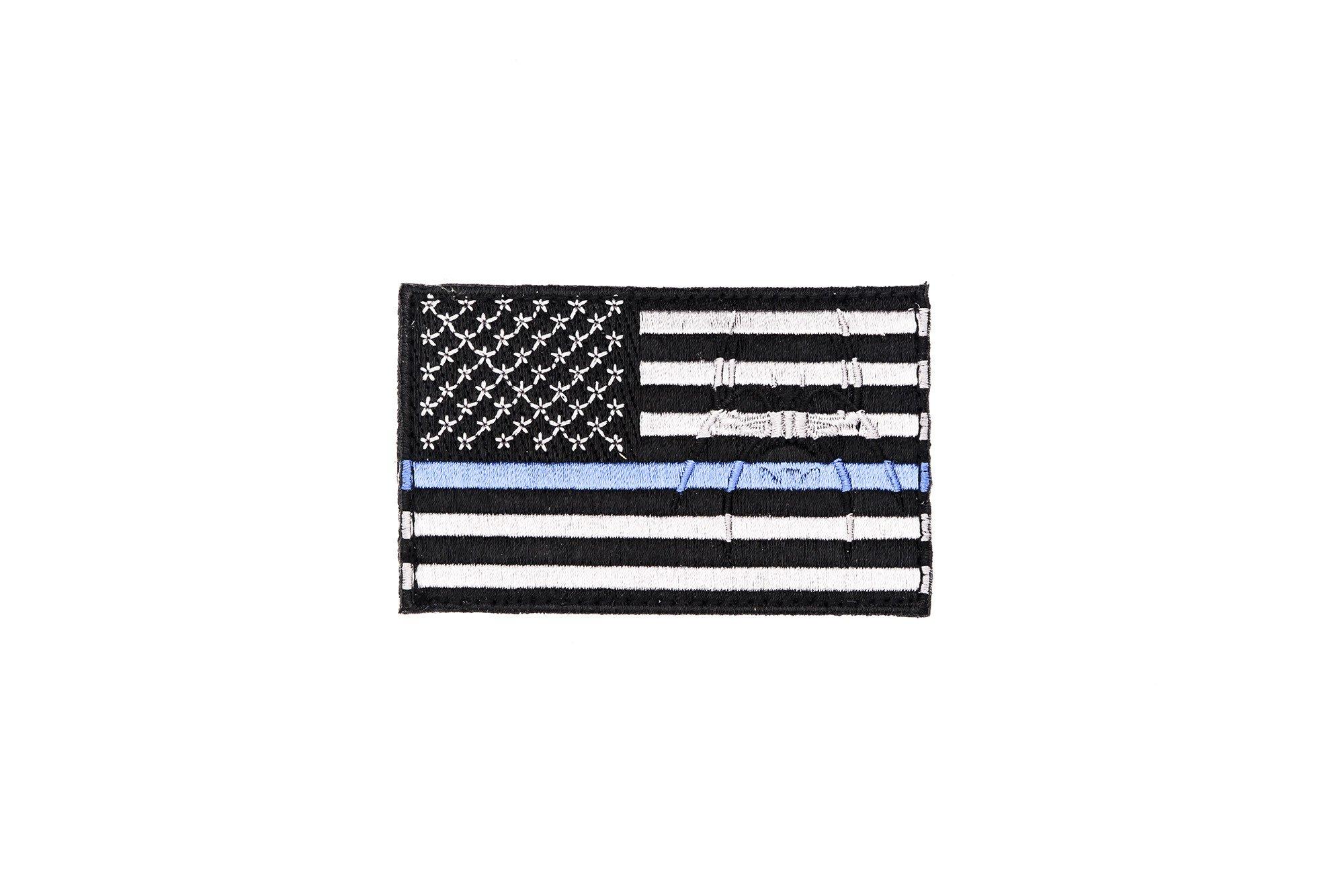 American Flag- Blue Line