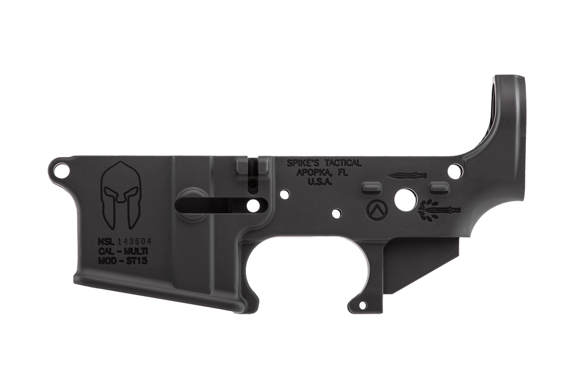 Spartan Stripped Lower Receiver