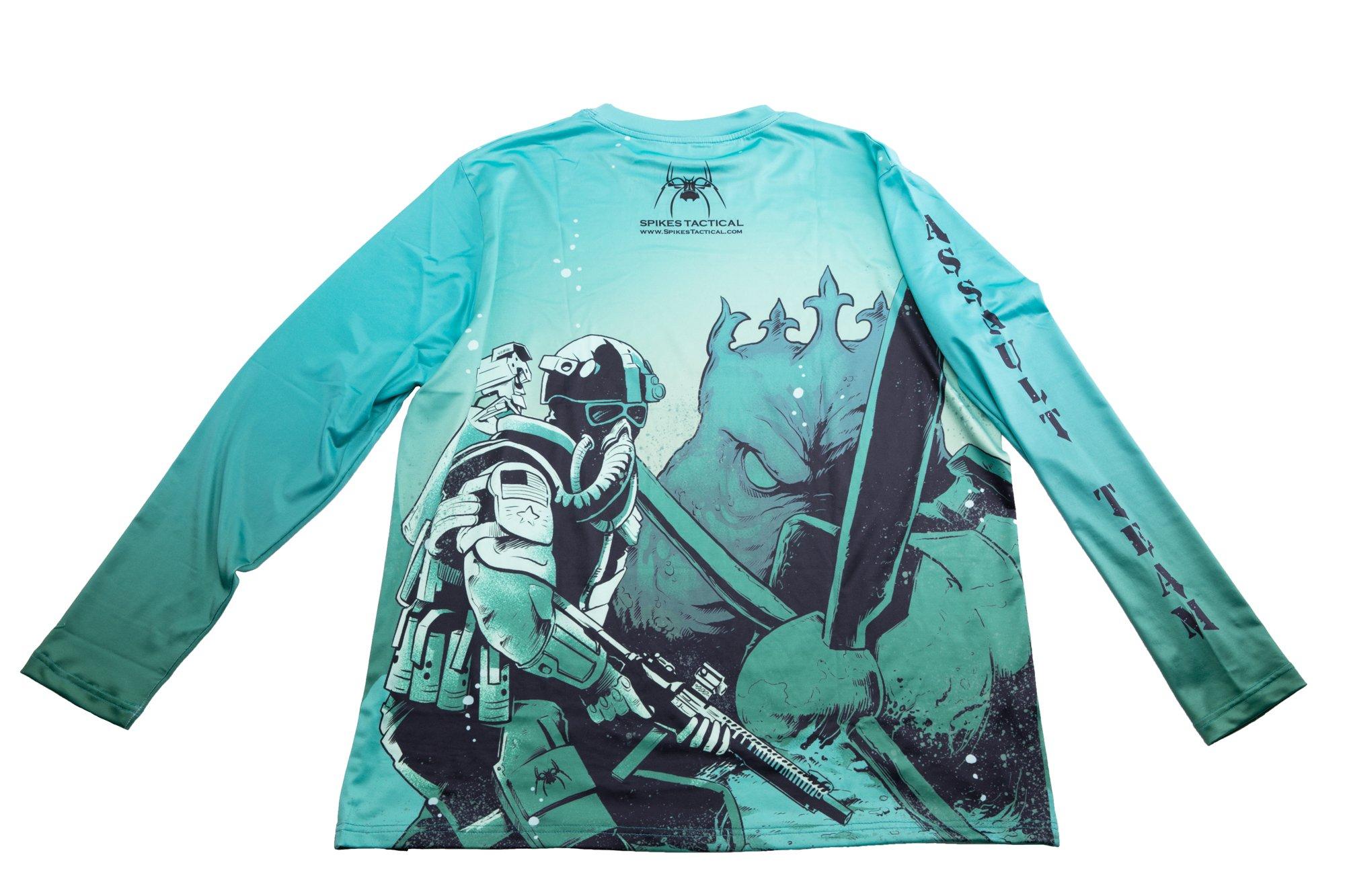Spike's Kraken Fishing Shirt