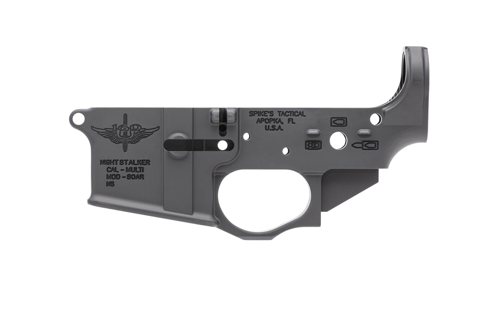 Night Stalker Stripped Lower Receiver